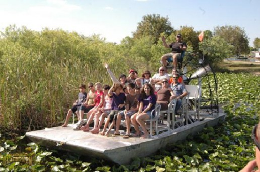 airboat, big boat, boat tour, airboat rides