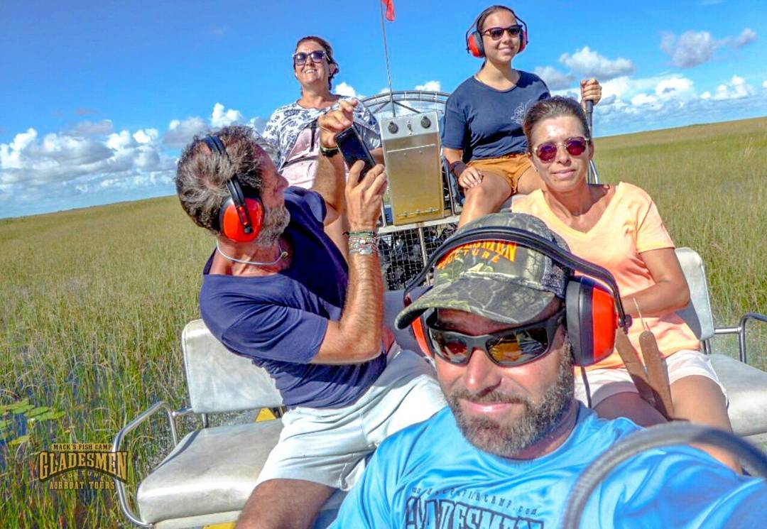 everglades airboat tour, macks fish camp, gladesmen culture, miami airboat tours